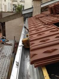 Réfection d'une couverture tuile mécanique avec écran de sous toiture